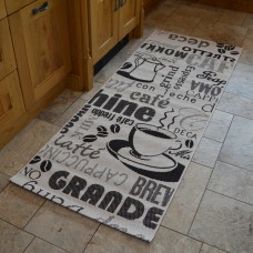 Modern Kitchen Rugs - Cafe Grande Mat