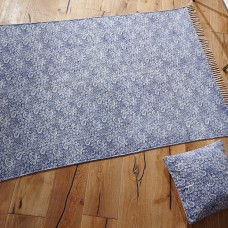 Murray Stonewashed Blue Flatwoven Rugs