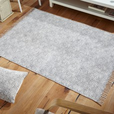 Murray Stonewashed Grey Flatwoven Rugs