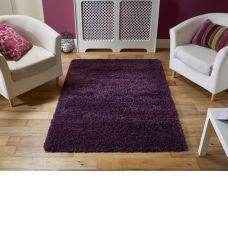Harmony Shaggy Purple Rugs