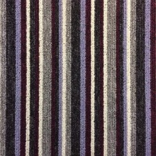 Manhattan Stripe - Aubergine Carpet