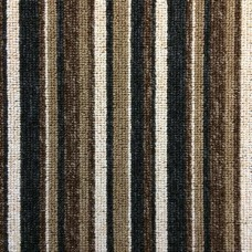 Manhattan Stripe - Brown Carpet