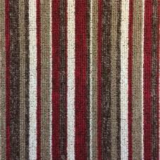 Manhattan Stripe - Fire Red Carpet