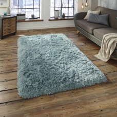 Nordic Thick Shaggy Soft Rugs - Light Blue Rug