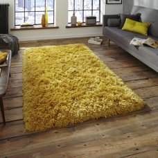 Nordic Thick Shaggy Soft Rugs - Mustard Yellow Rug