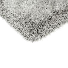 Waterfall Shaggy Rugs - Silver Rug