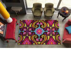 Galaxy Funky Multi Colour Modern Rugs