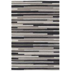 Galaxy Stripe Rugs- Charcoal / Grey Rug
