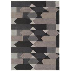 Galaxy Blocks Charcoal / Grey Rug
