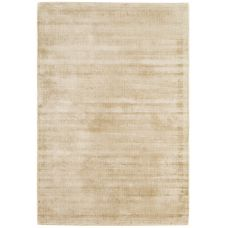 Blade - Dense Viscose Luxury Plain Rugs - Champagne