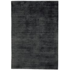 Blade - Dense Viscose Luxury Plain Rugs - Charcoal