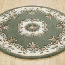 Royal Traditional Circle Rug - Green