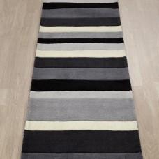 Kingston Stripes Charcoal / Grey Runner