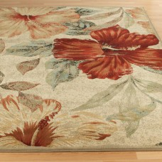 Florence Designer Rugs- Multi Floral Contemporary Rug