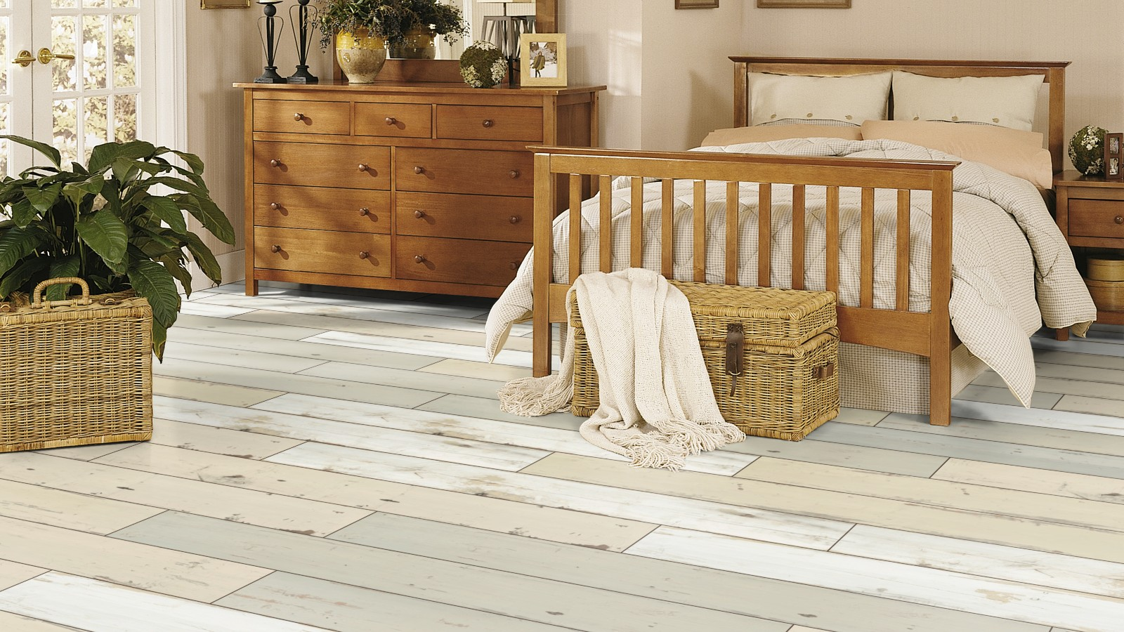 krono swiss exquisite 4 v 8mm shabby chic laminate flooring 17m2 brave d4782 ebay. Black Bedroom Furniture Sets. Home Design Ideas
