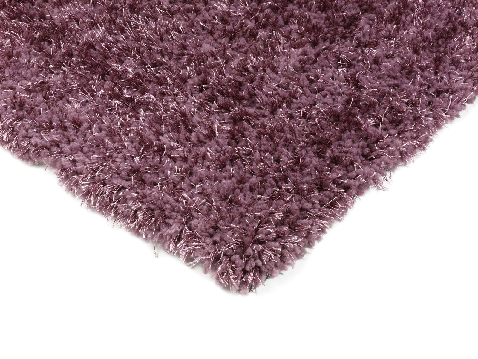 Diva Soft Shaggy Rugs Heather Purple Rugs Martin