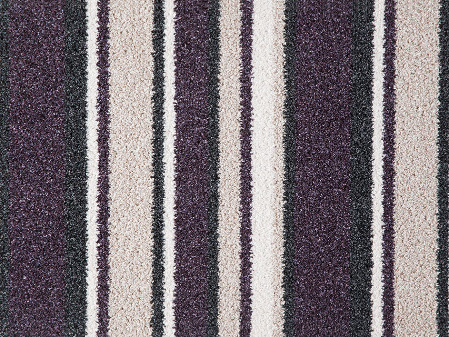 Purple And Beige Striped Carpet Carpet Vidalondon