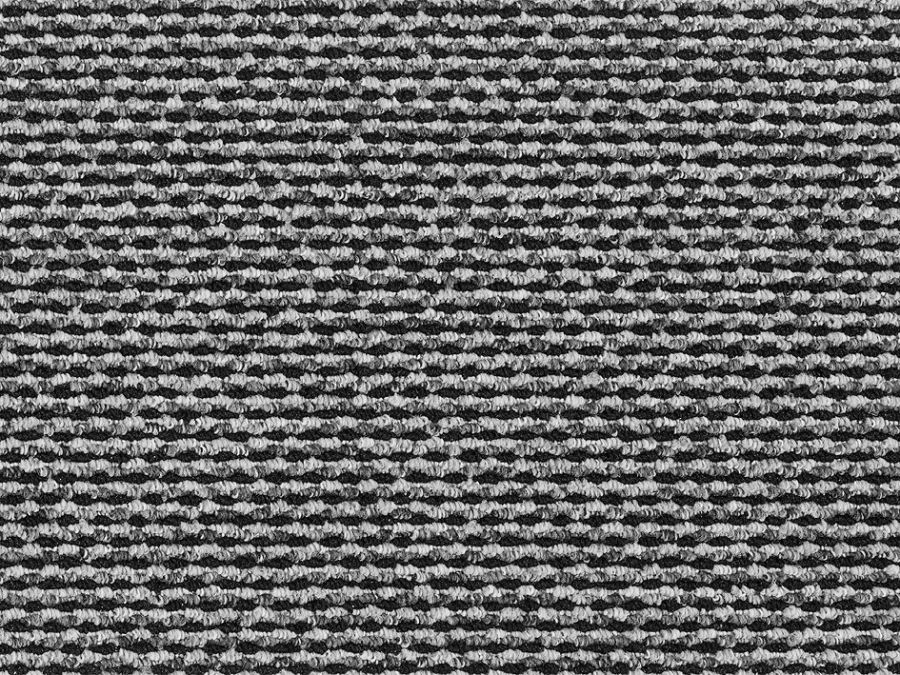 Essentials grey black berber 98 for Black and white berber carpet