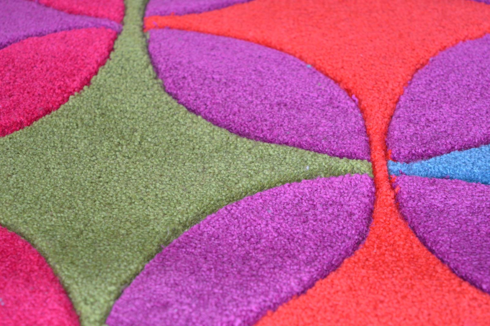 Galaxy Stars Rugs Pink Purple Red Multi Rug Martin
