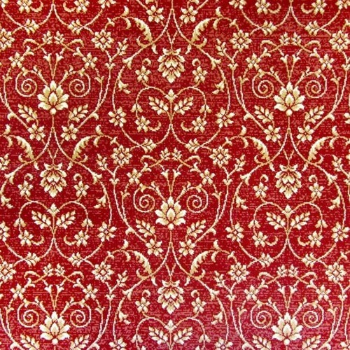 Wilton Barathon Damask Red Carpet