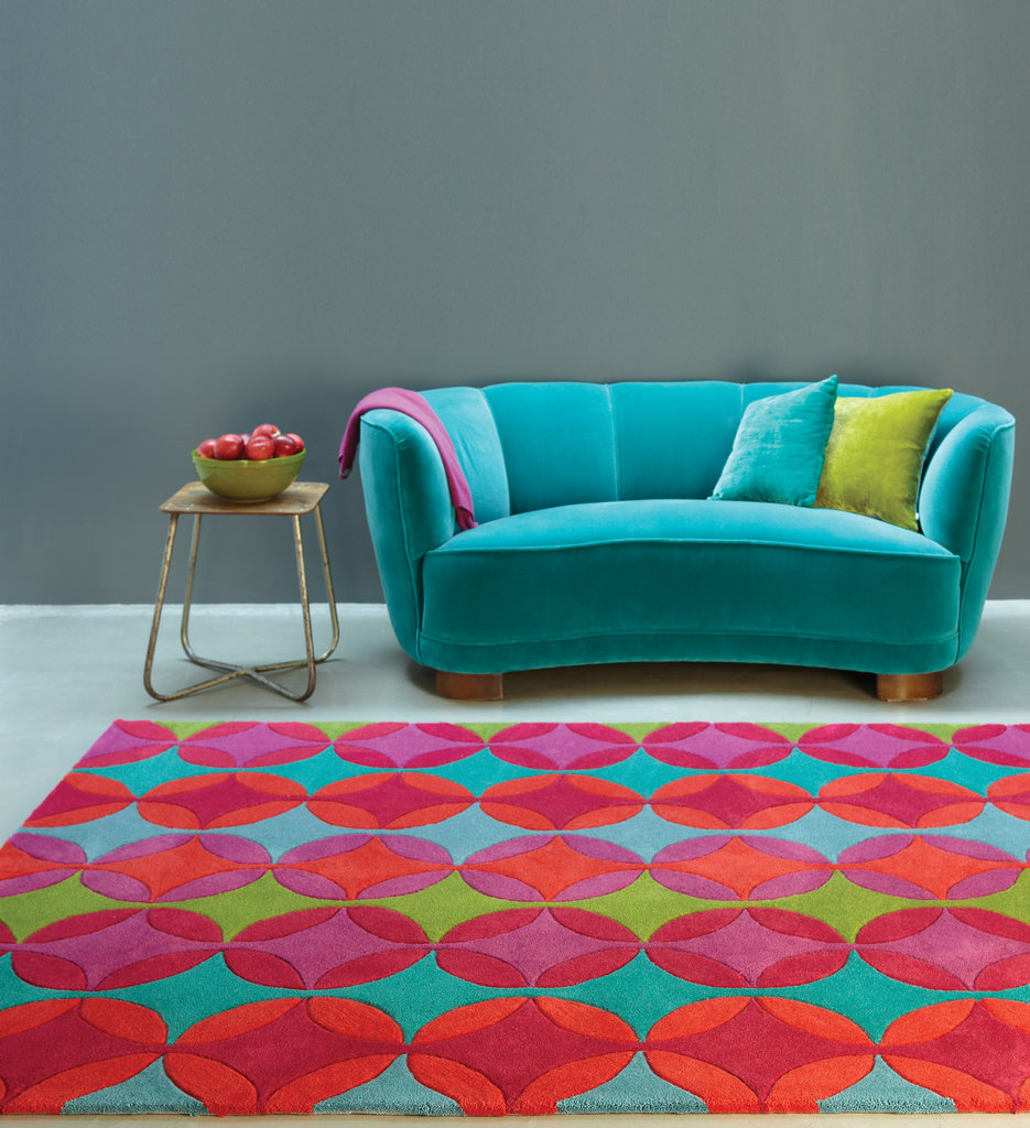 Galaxy Stars Rugs Pink Purple Red Multi Rug Martin