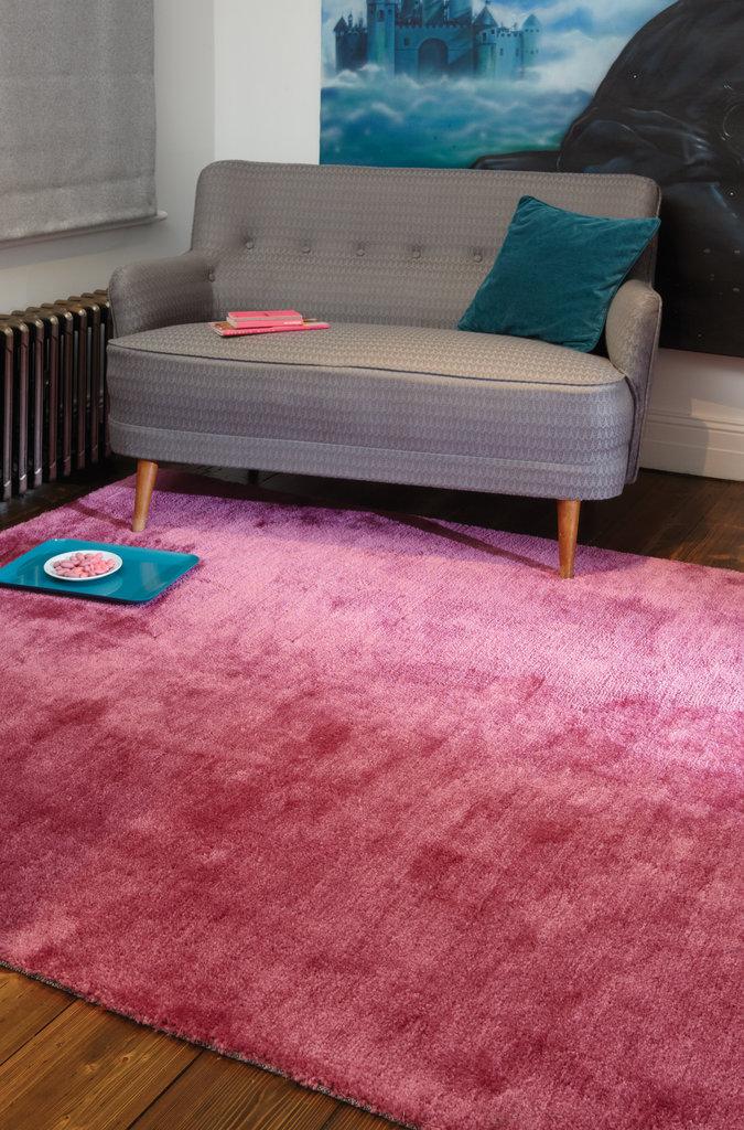 Cloud Soft Plain Pink Rugs - Martin Phillips Carpets - Martin ...