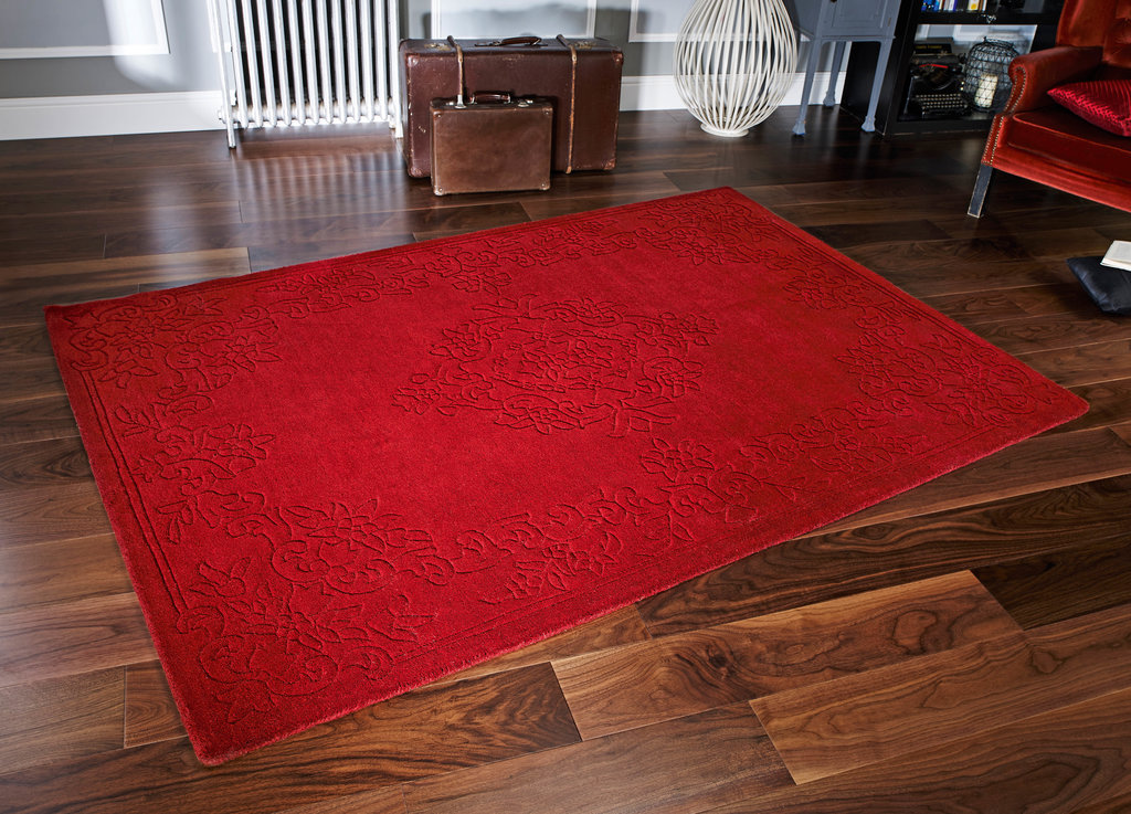 Red Wool Rugs Uk Home Decor