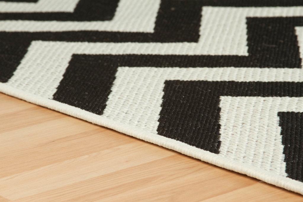 black and cream rug. Malmo 1503x Black / Cream Rug And