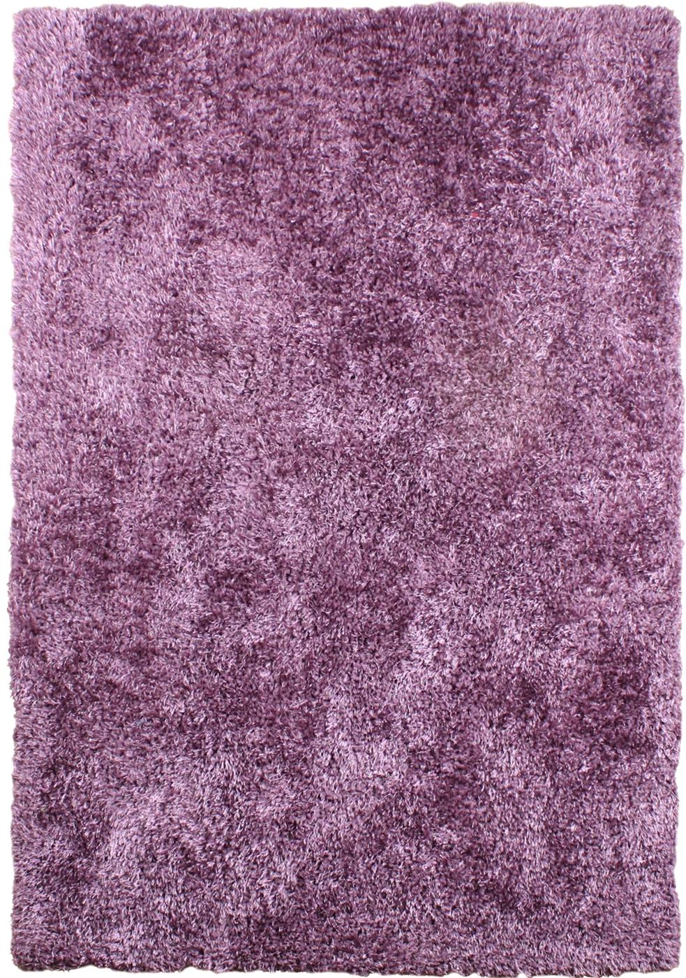 Diva Soft Shaggy Rugs Heather Purple Rugs