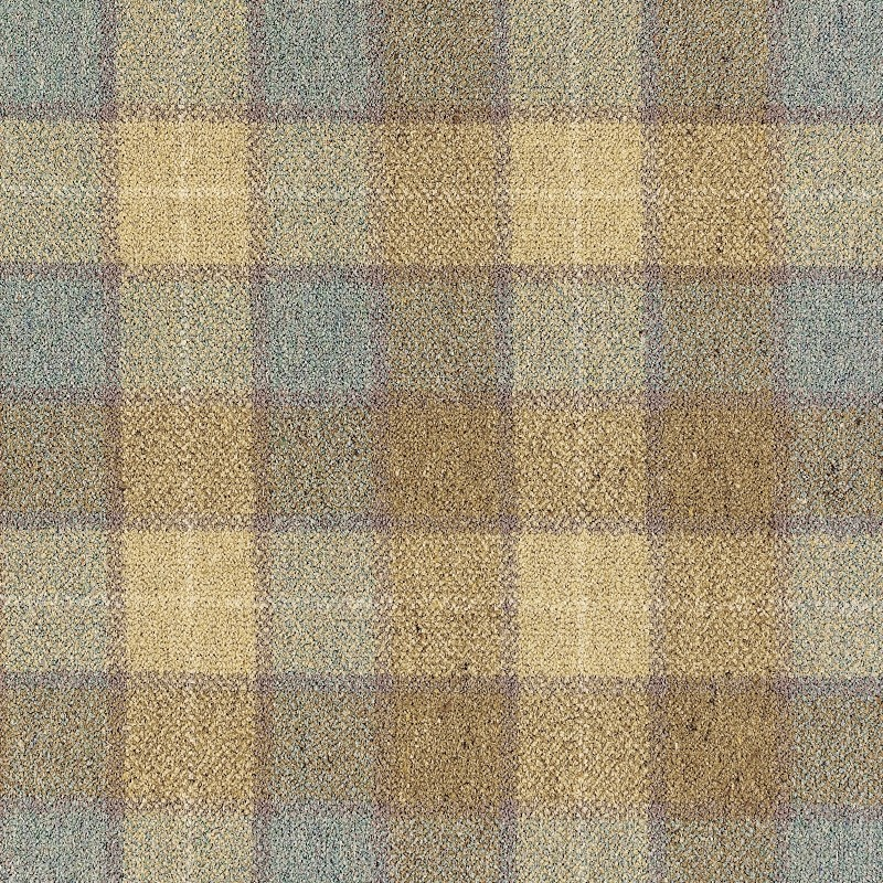 Woven Axminster Carpet Luxury Designer 80 20 Wool Tartan
