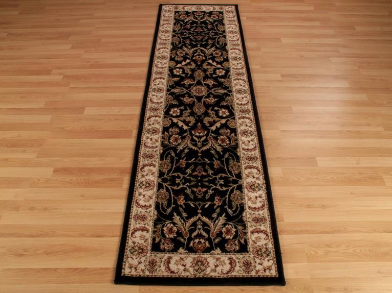 Black And Gold Carpet Runner Carpet Vidalondon