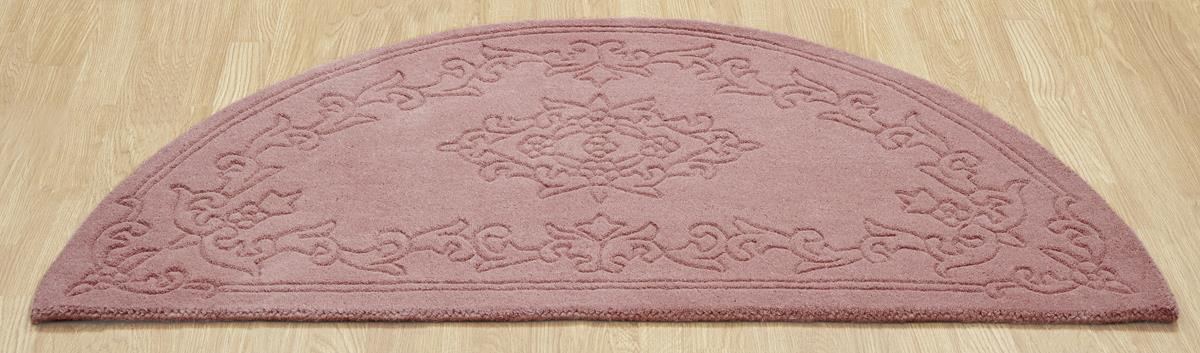 rose rug emperor luxury dense wool rugs rose half moon rug martin