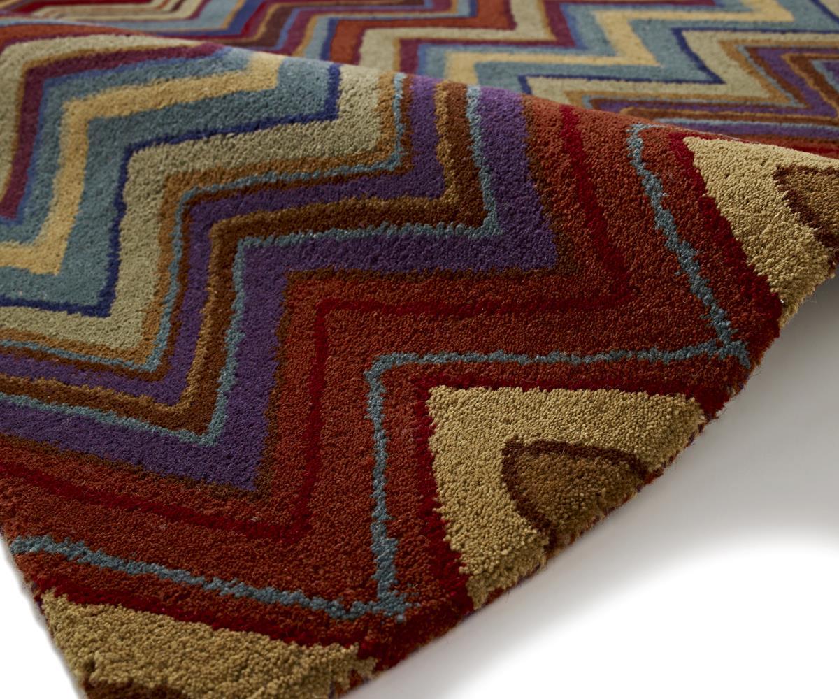 Aztec Tribal Multi Colour Wool Area Rugs Martin Phillips